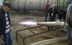 Газовая горелка для термообработки. Ремонтные технологии