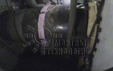 Подогрев сварного шва под водой в кессоне. Ремонтные технологии