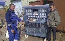 Установка для термообработки сварных швов (термопост). Ремонтные технологии